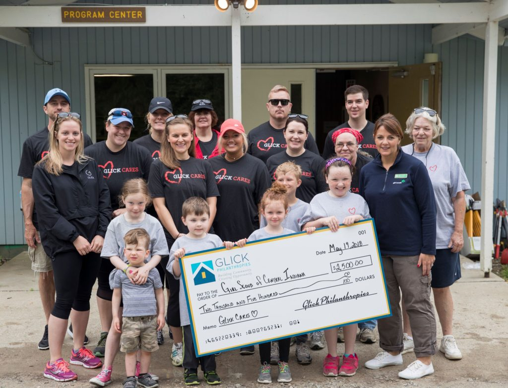 Glick Cares and Girl Scouts