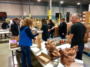 Glick Cares at Gleaners
